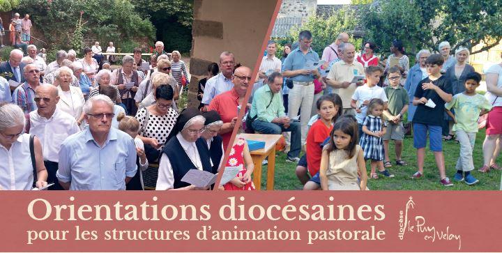 Orientations pour les structures d'animation pastorale