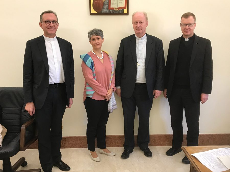 Mgr Crepy a rencontré les dicastères romains pour la Cellule Permanente de Lutte contre la Pédophilie
