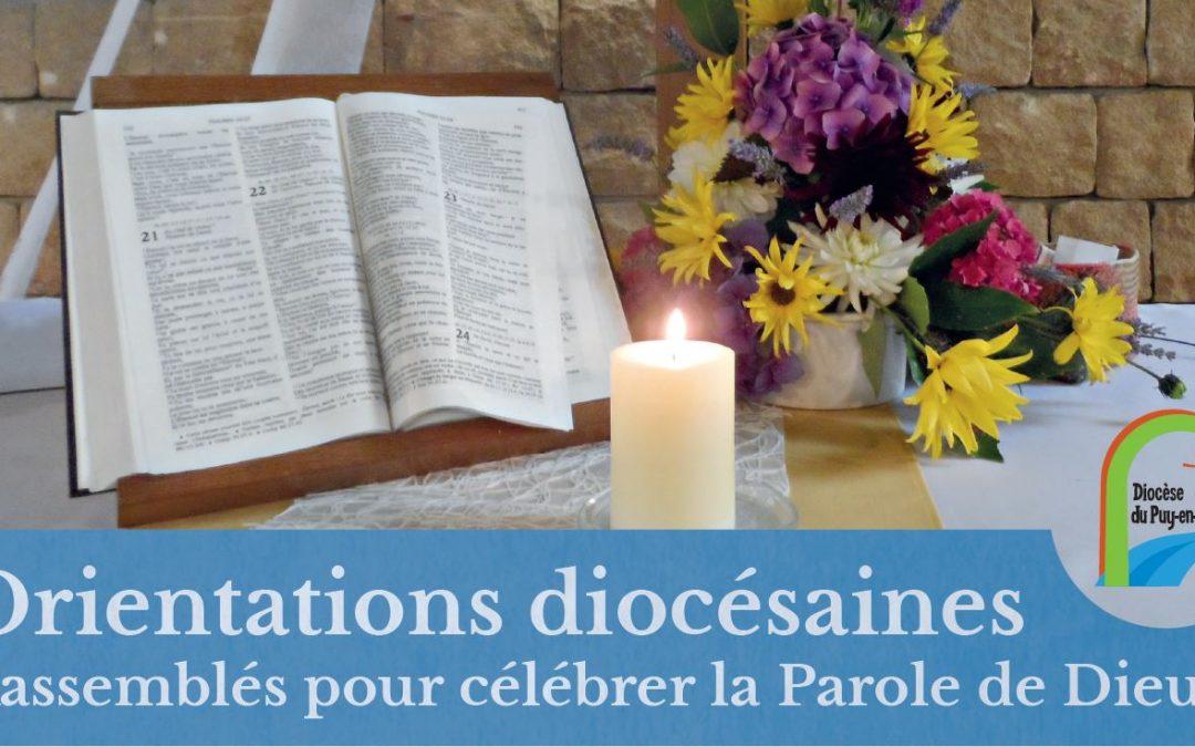 Rassemblés pour célébrer la Parole de Dieu