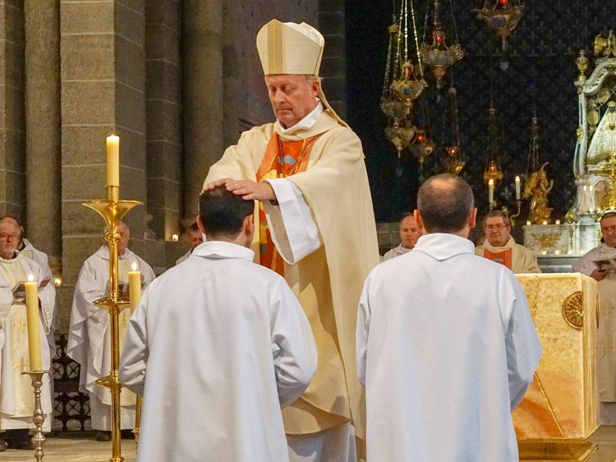 Ordinations diaconales d'Alain Garnier et de Jérôme Maurin