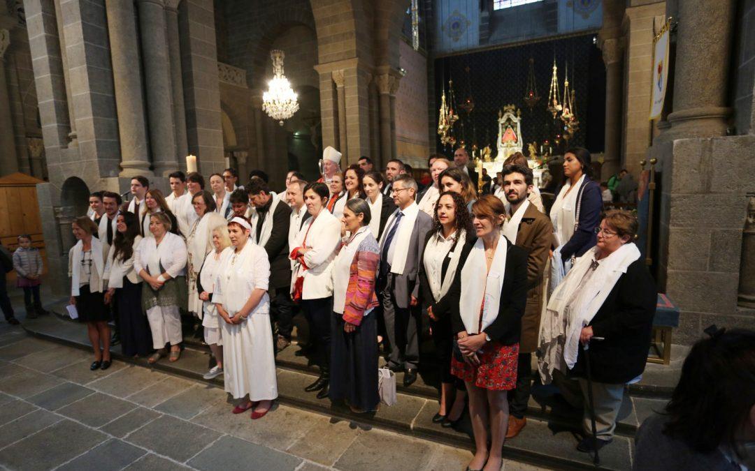 Homélie : Fête de la Pentecôte et confirmation d'adultes à la cathédrale du Puy