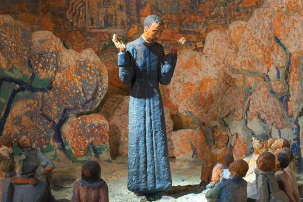 La vie de Saint-Régis aumuséede Lalouvesc