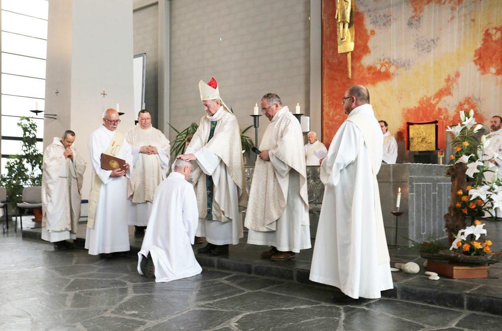 Ordination diaconale d'Antoine Gérard