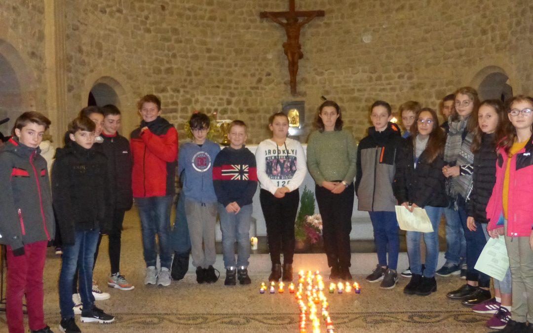 Messe des jeunes à Raucoules