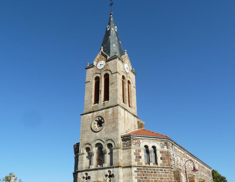 Rénovation de l'église de Sanssac