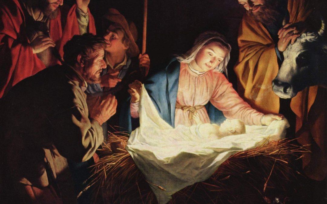 Homélie de la messe de la nuit de Noël