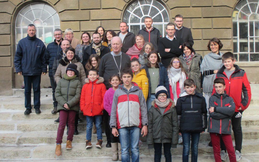 28 jeunes confirmands à la cathédrale