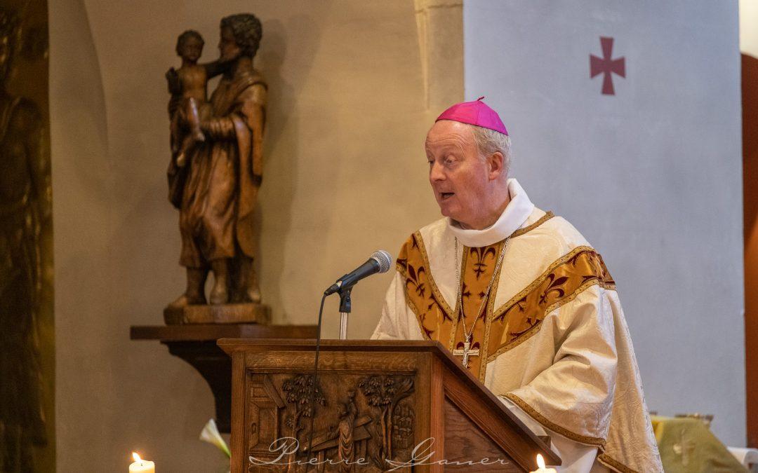 Homélie de Mgr Luc Crepy du 3è dimanche de Pâques