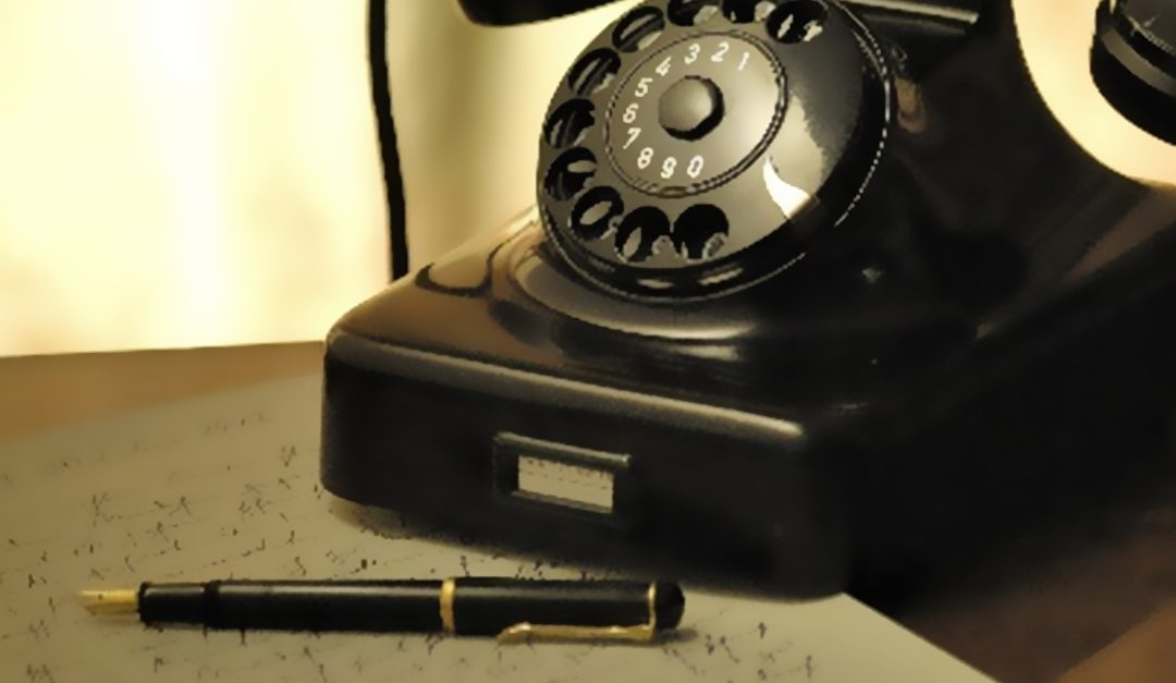Vivre un temps de prière au téléphone