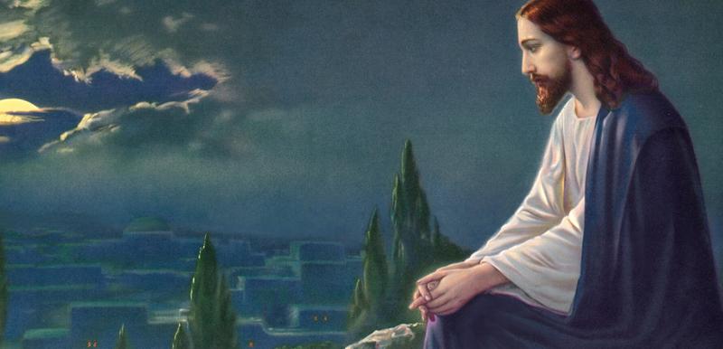 Jésus prie pour ses disciples