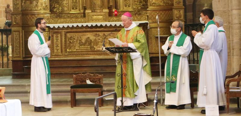 Messe d'installation du Père Pierre de Veyrac, homélie de Mgr Luc Crepy